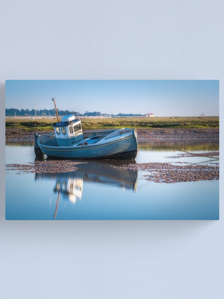 Alternate view of The Calm of the Morning Canvas Print