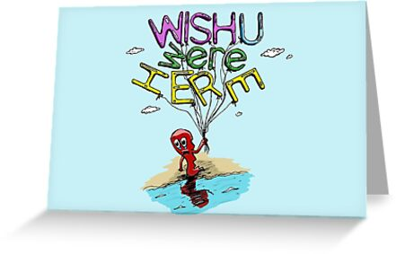 Wish You Were Here Pink Floyd Greeting Cards By Ptelling Redbubble