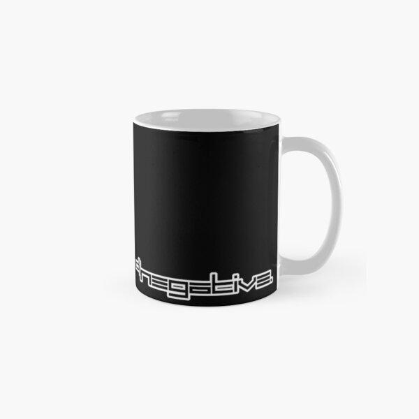 DJ NEGATIVE - OUTLINE - WHITE Classic Mug