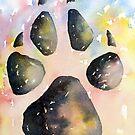 Universal Pawprint by Pat  Elliott