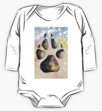 Universal Pawprint One Piece - Long Sleeve
