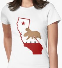 California Republic Pride Women's Fitted T-Shirt
