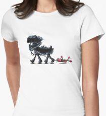 Busy Affenpinscher Womens Fitted T-Shirt