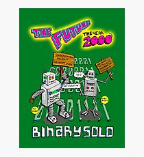 Flight of the Conchords - Binary Solo - Robots 2 Photographic Print