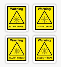 SCP Warning - Gluon Threat Sticker