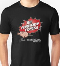 Pork Chop Express - Large Central Logo  T-Shirt