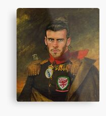 Gareth Bale Duke of Wales Metal Print