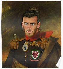 Gareth Bale Duke of Wales Poster