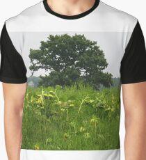 Rural landscape Graphic T-Shirt