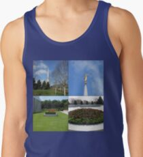 The Preston Temple Grounds in Spring and Summer Tank Top