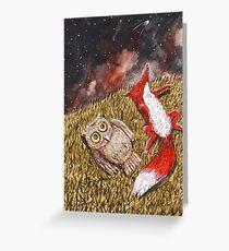 Sternengucker Greeting Card