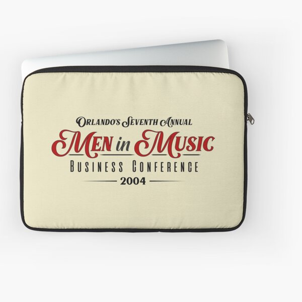 Men in Music Business Conference (White Dress by Lana Del Rey) Laptop Sleeve