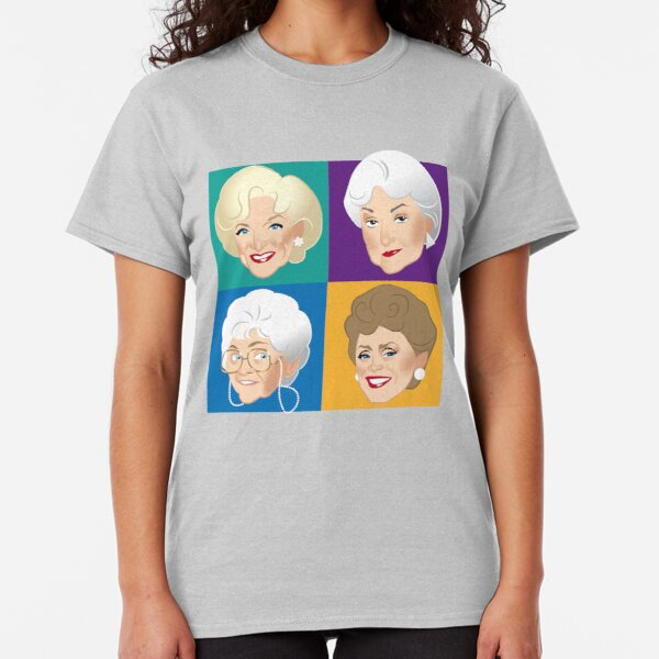Betty White // Dumb Question Golden Girls Rose Nylund Quote T-Shirt