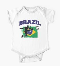 Brazil Football / Soccer Kids Clothes