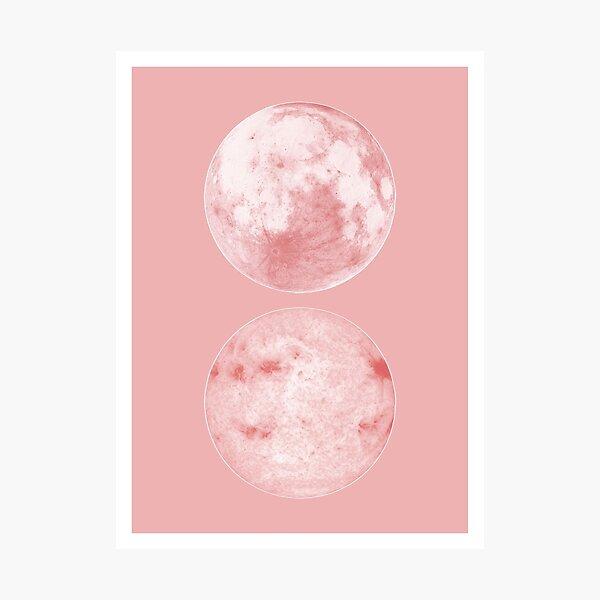 Moon and sun Photographic Print