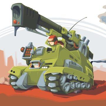 Desert Tank by Dillerkind