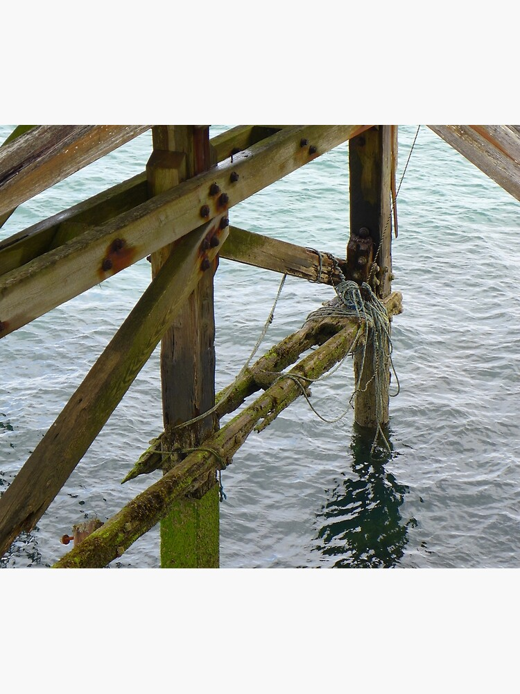 The old pier at Trefor by AnnaMyerscough