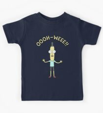 Rick and Morty Poopy Butthole OOOH WEEE Kids Tee