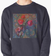 Roses #DeepDreamed Pullover