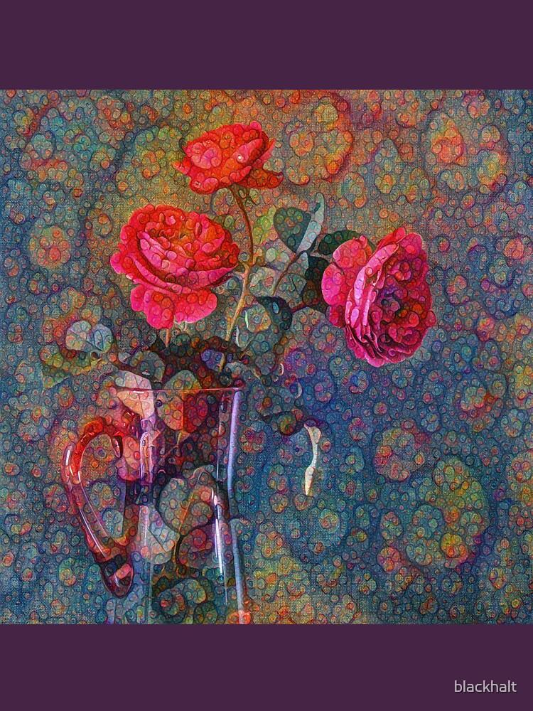 Roses #DeepDreamed by blackhalt