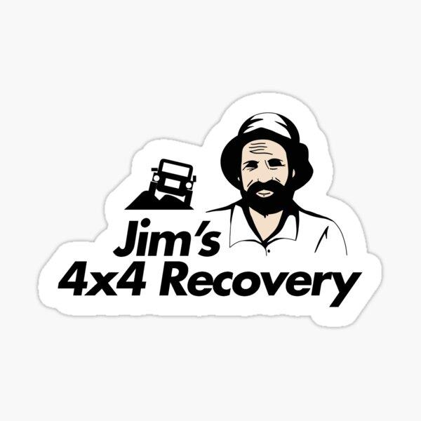 Jims 4x4 Recovery Sticker