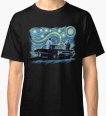 supernatural starry night sam dean winchesters  baby j2 Classic T-Shirt