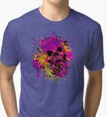 Suicidal Skull Tri-blend T-Shirt