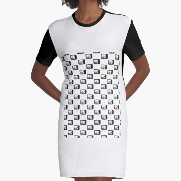 Don't Get Caught.| Perfect Gift Graphic T-Shirt Dress