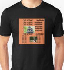 Das Leben von Harambe Slim Fit T-Shirt