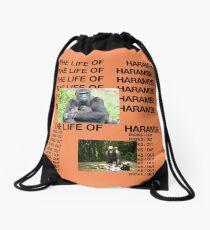 The Life of Harambe Drawstring Bag