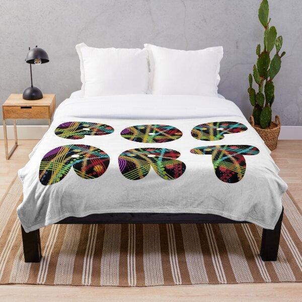 Pop Art - Color Throw Blanket