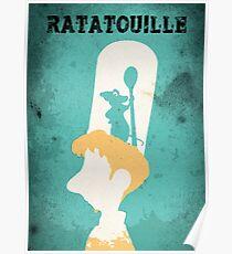 Remy & Linguini Poster