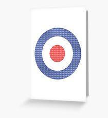 RAF Symbol Greeting Card