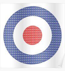 RAF Symbol Poster