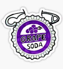 up grape soda pin 2 Sticker