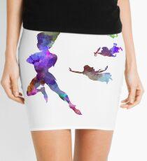 Peter Pan in watercolor Mini Skirt