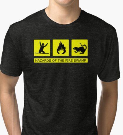 Hazards of The Fire Swamp Tri-blend T-Shirt