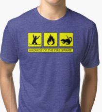 Hazards of The Fire Swamp Tri-blend T-Shirt