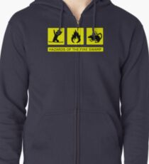 Hazards of The Fire Swamp Zipped Hoodie