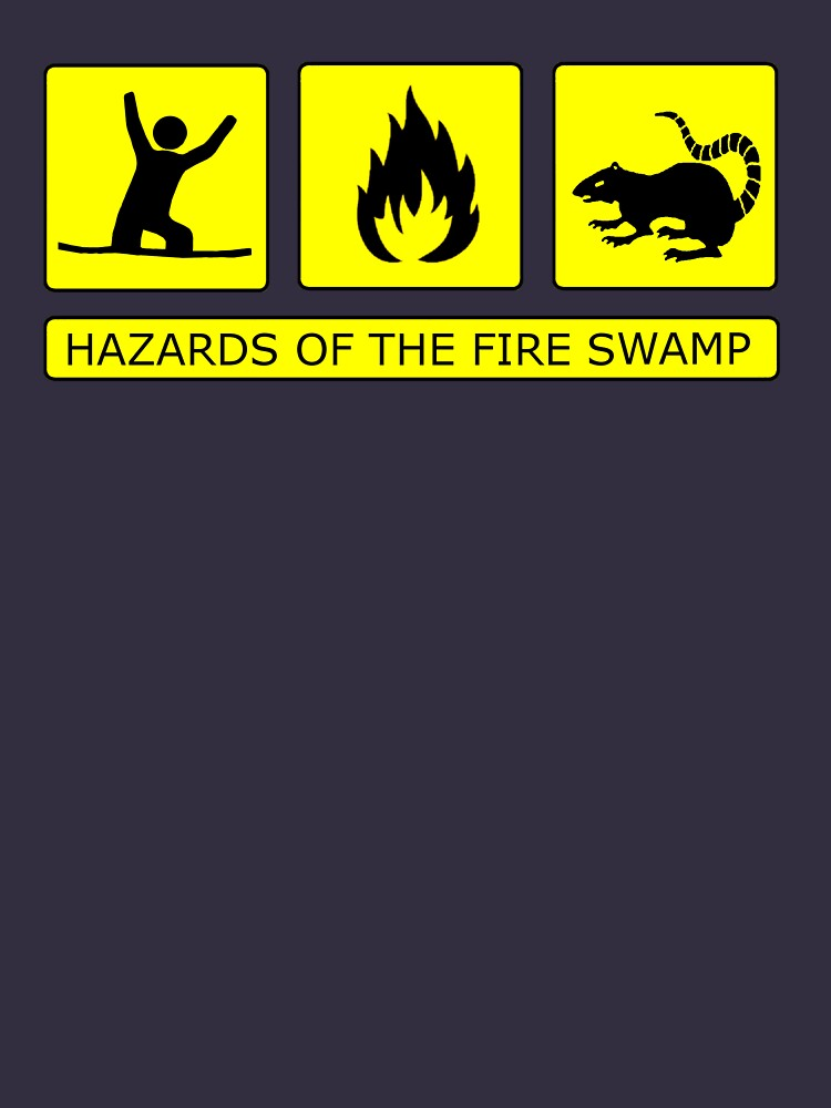 Hazards of The Fire Swamp by RobGoodfellow