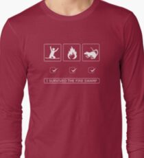 I survived the fire swamp Long Sleeve T-Shirt