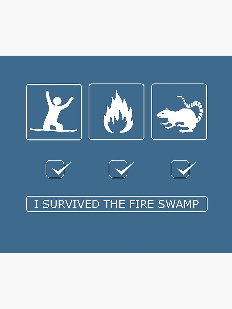 I survived the fire swamp by RobGoodfellow