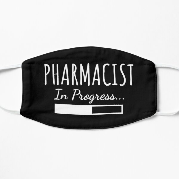 Pharmacist In Progress Flat Mask