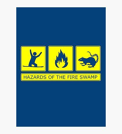 Hazards of the Fire Swamp Photographic Print