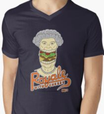 Royale with cheese Men's V-Neck T-Shirt