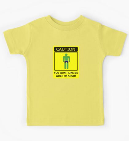Don't Make Me Angry Kids Clothes
