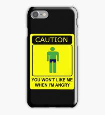 Don't Make Me Angry iPhone Case/Skin