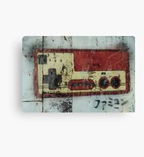 FAMICOM URBAN GAMING COMPOSITION  Canvas Print