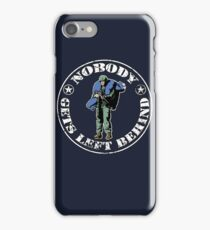 Nobody gets left behind - cookie monster version iPhone Case/Skin