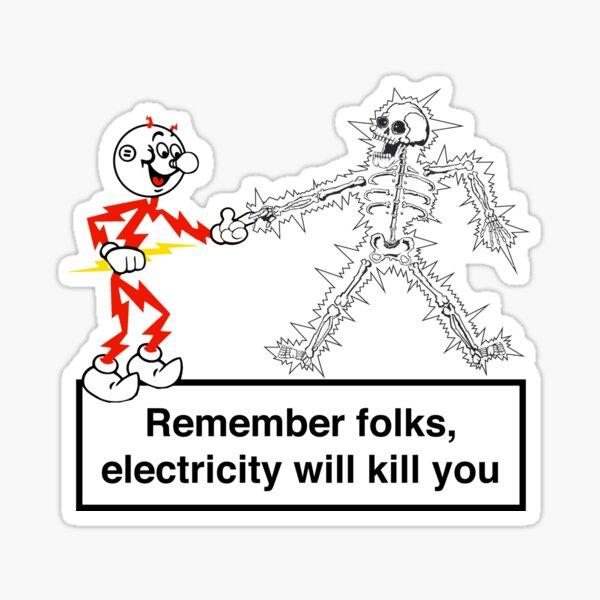 Reddy Kilowatt Sticker